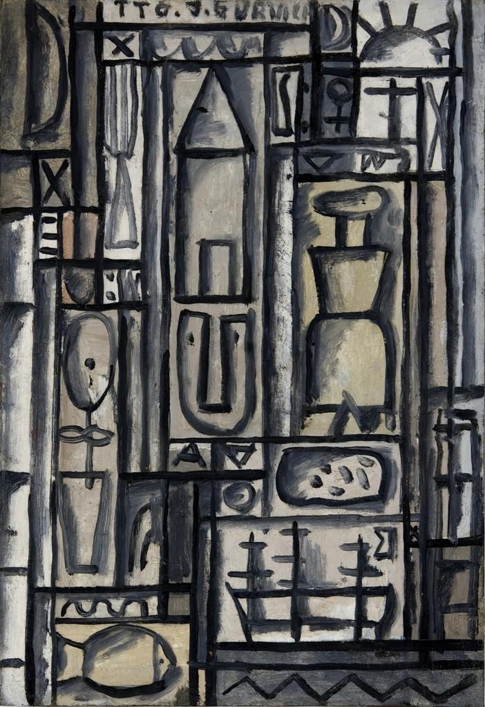 José Gurvich, 'Constructivo en blanco y negro,' ca. 1950, Sammer Gallery LLC