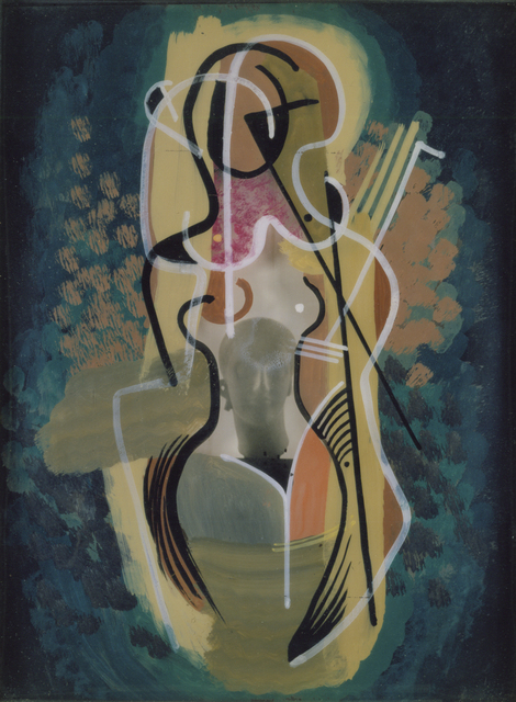 ", 'Nude with ""N"",' 1949, Hollis Taggart"