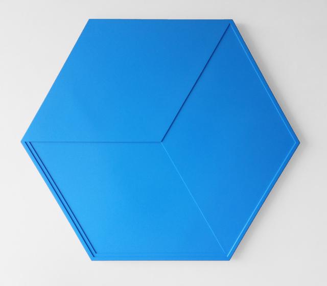 , 'Zeshoek en ruit in overgang / Hexagon and lozenge in transition,' 1967, The Mayor Gallery