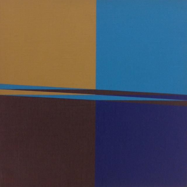 , 'Plano de 4 partes - 2ª versão,' 1977, Dan Galeria