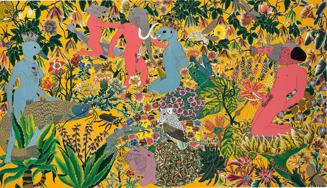 Raqib Shaw, 'After the Garden of Earthly Delights - Hieronymus Bosch', 2002, Phillips