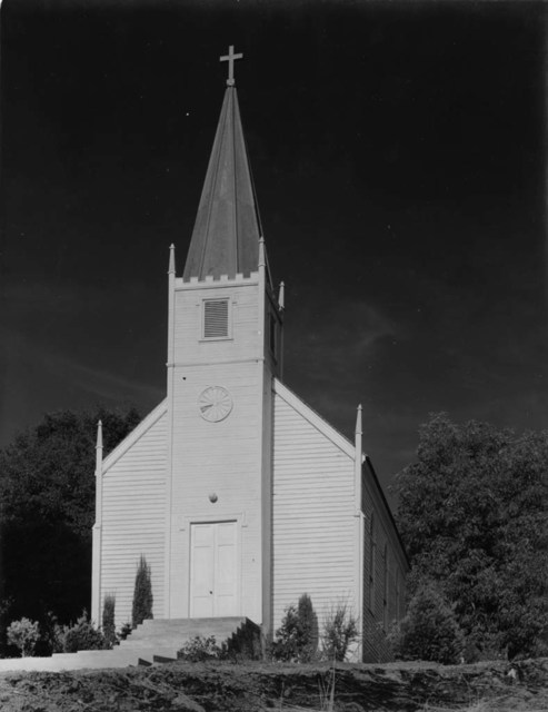 Ansel Adams, 'Church at Mariposa ', before 1935, Robert Klein Gallery