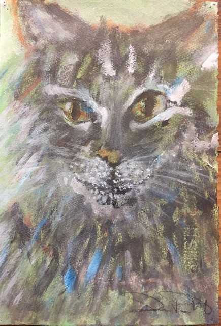 , 'Mystery Cat,' 2019, LeMieux Galleries