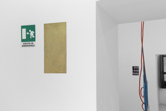 Brendan Lynch, 'Plaque 4', 2014, Painting, Brass, The Still House Group
