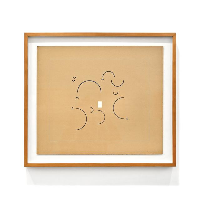 , 'Metaesquema nº 201,' 1957, LURIXS: Arte Contemporânea