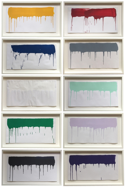 , 'Coloured paintings,' 2015, ARCHEUS/POST-MODERN