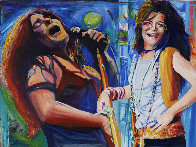 , 'Janis Joplin,' 2006, Fountain House Gallery