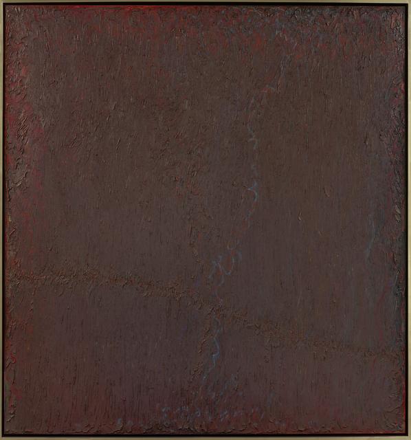 , 'Brimedwashplungingofdarkedsilence,' 1979, Berry Campbell Gallery