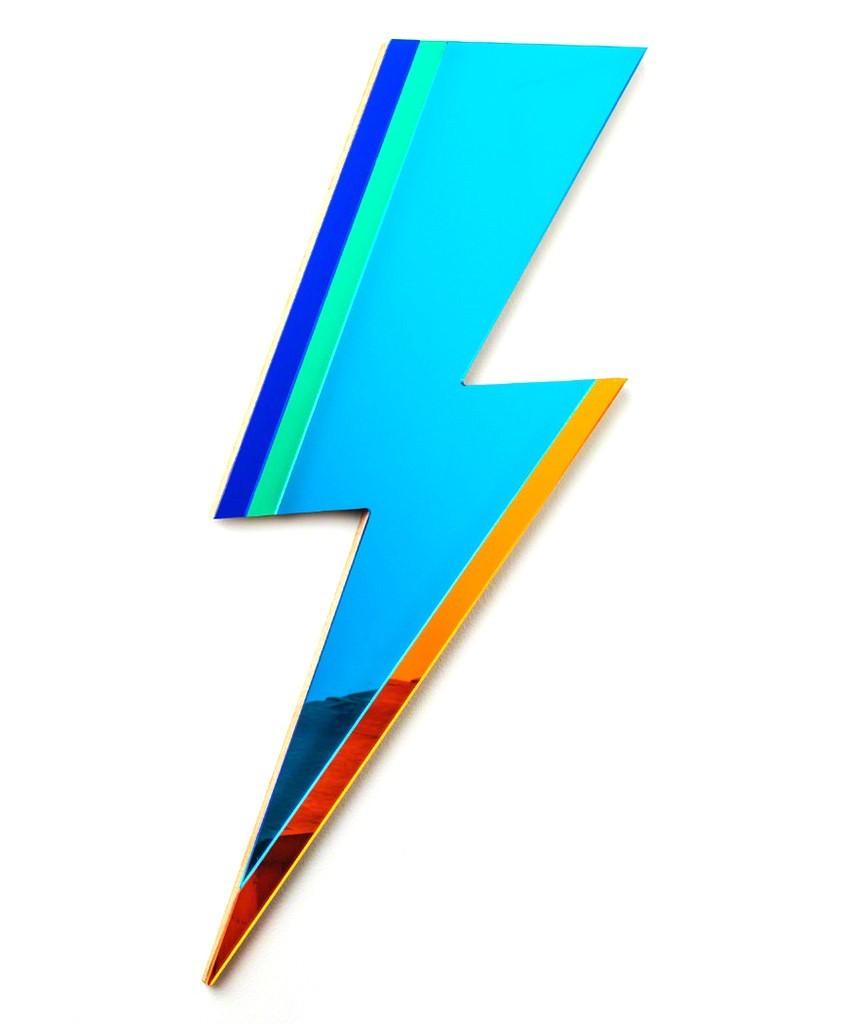Lightning Mirror - Blue