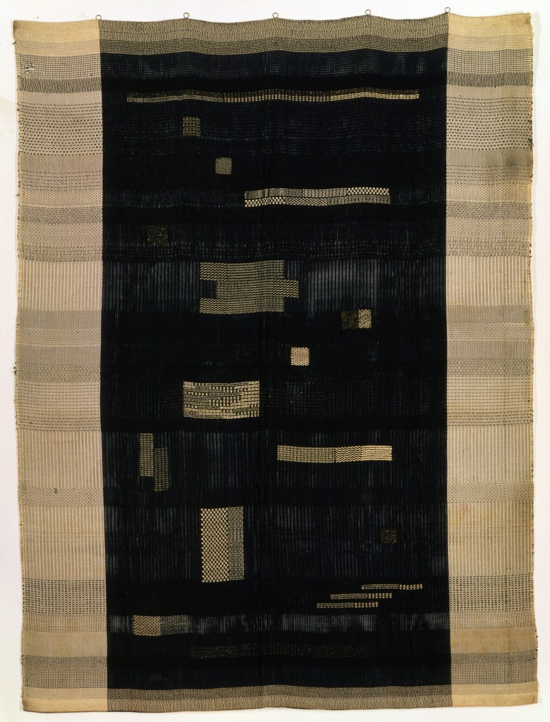 Anni Albers, Ancient Writing, 1936. Cotton and rayon. Smithsonian American Art Museum, Washington, D.C., Gift of John Young, 1984.150. © 2017 The Josef and Anni Albers Foundation/Artists Rights Society (ARS), New York. Photo: Smithsonian American Art Museum, Washington, D.C./Art Resource, N.Y.
