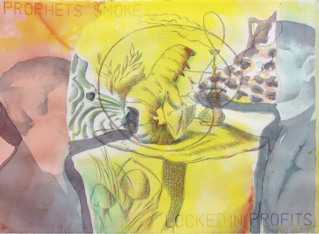 , 'Prophets Smoke,' 2011, Juan Silió