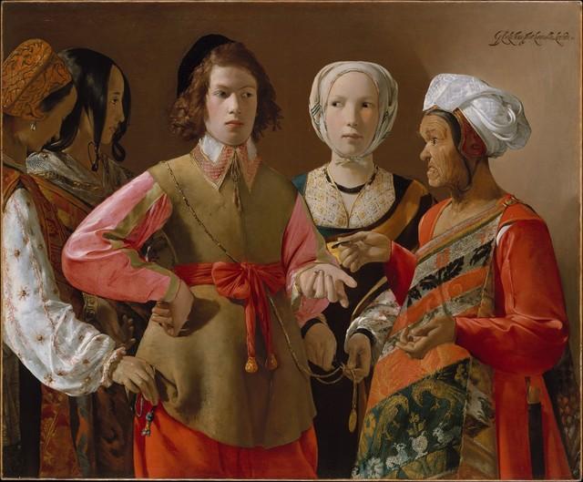 Georges de La Tour, 'The Fortune-Teller', ca. 1630–1639, Painting, Oil on canvas, The Metropolitan Museum of Art