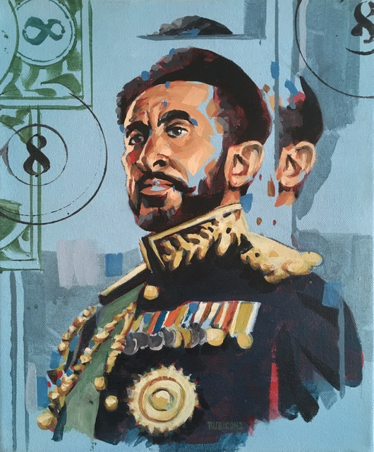 RU8ICON1, 'HAILE SELASSIE I', 2017, Deep Space Gallery