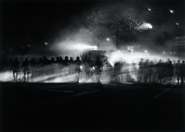 , 'Untitled (Ferguson Police, August 13, 2014),' 2014, The Broad