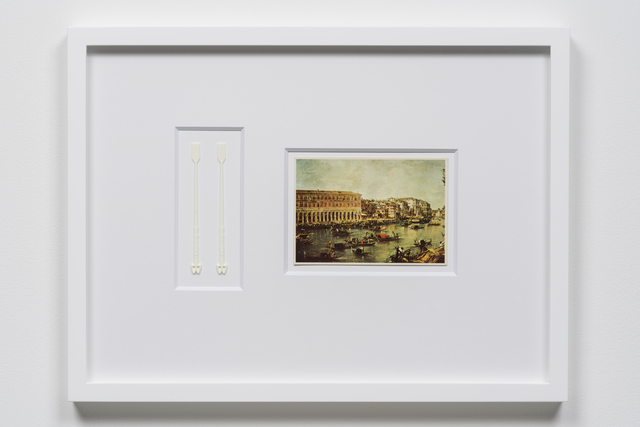 Yuichiro Tamura, 'Paddles', 2018, Mixed Media, Muddler, postcard, Yuka Tsuruno Gallery