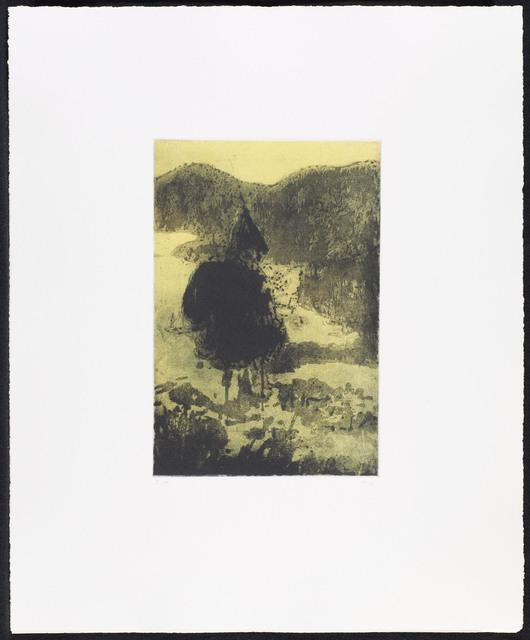 , 'Figure in a Mountain Landscape, from Grasshopper,' 1997, Galerie Maximillian