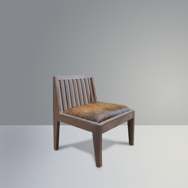 Pierre Jeanneret, 'PJ-SI-18-A', Design/Decorative Art, Teak, hides, P! Galerie