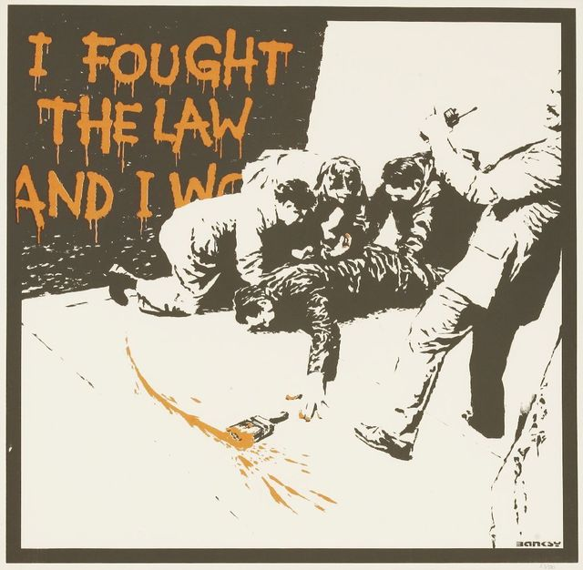 Banksy, 'I Fought The Law', 2004, Sworders