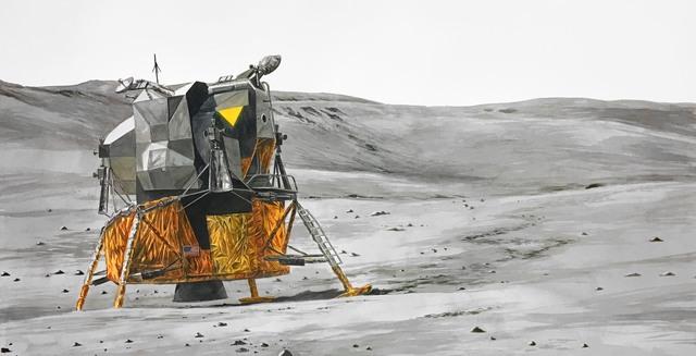 Thomas Broadbent, 'Lunar Landscape', 2019, Front Room Gallery