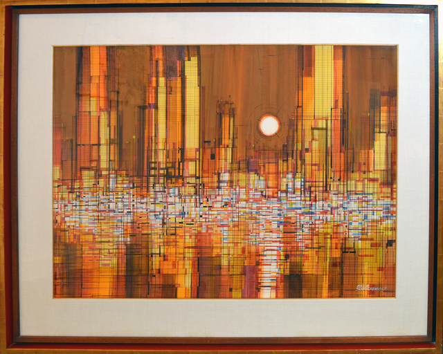 Viktor Schreckengost, 'City Lights II', 1970s, The Bonfoey Gallery