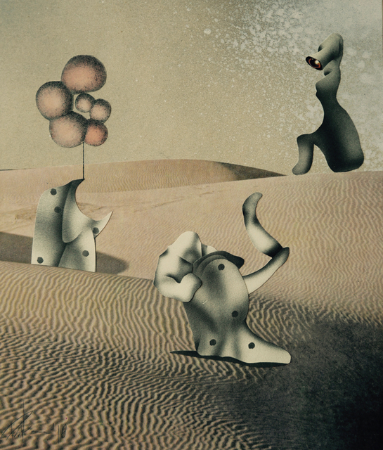 , 'Desert Sandbox,' 2018, Foley Gallery