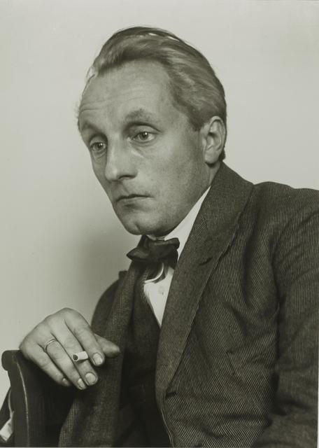 , 'Painter [Franz M. Jansen],' ca. 1924, Galerie Julian Sander