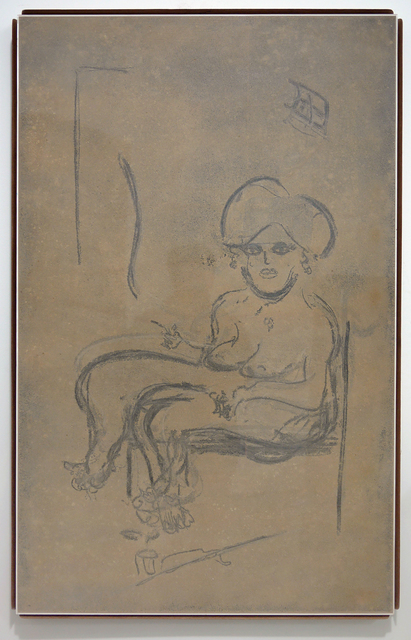 , 'Custom Dust Drawing,' 2016, David Petersen Gallery