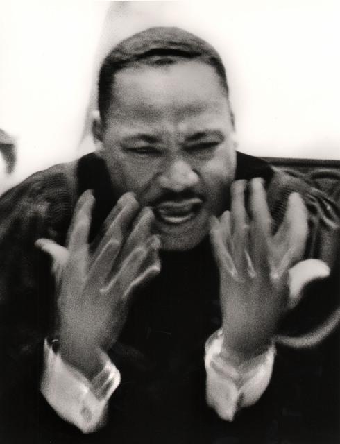 , 'Martin Luther King, Jr. Preaching at Ebenezer Baptist Church,' 1963, Keith de Lellis Gallery