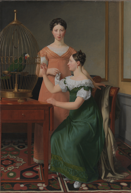 , 'Mendel Levin Nathanson's Elder Daughters, Bella and Hanna,' 1820, Statens Museum for Kunst