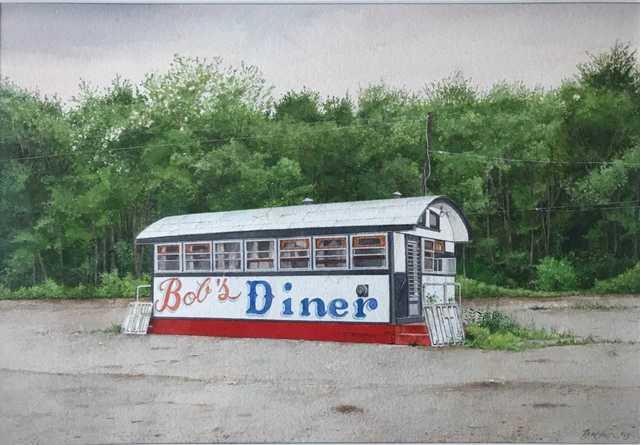 , 'Bob's Diner ,' 2009, Bernarducci Gallery