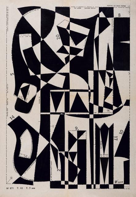 , 'Geometrical Forest No12,' 2018, Emmanuelle G Gallery