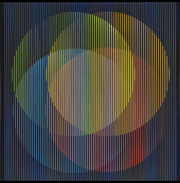 , 'Cromointerferencia Espacial 17,' 1964-2015, RGR+ART