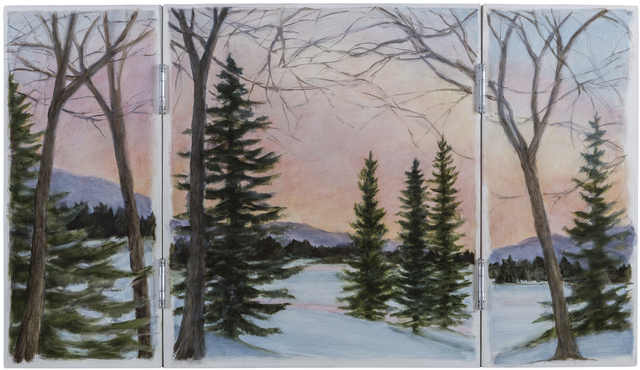 , 'South Branch Triptych,' , Pucker Gallery