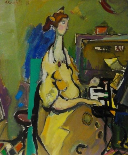 , 'Pianist,' , Eisele Fine Art