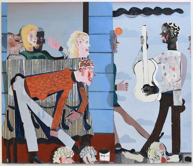 Pieter Jennes, 'We zingen van ons jonge leven', 2019, Painting, Oil on canvas, Gallery Sofie Van de Velde