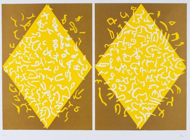 Carla Accardi, 'Yellow rhombus', Finarte