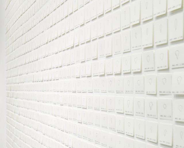 , 'inventario,' 2013, Wu Galeria