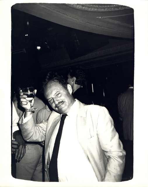 Andy Warhol, 'Andy Warhol, Photograph of Lester Persky circa 1983', ca. 1983, Hedges Projects