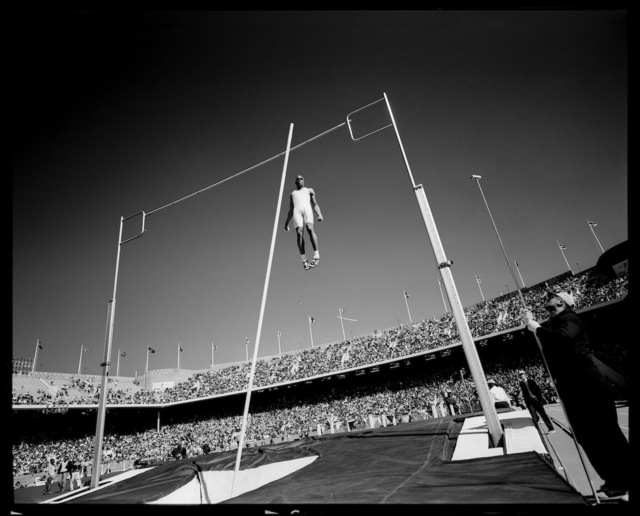 , 'Men's Pole Vault. Philadelphia, Pennsylvania, USA.,' 1996, Anastasia Photo