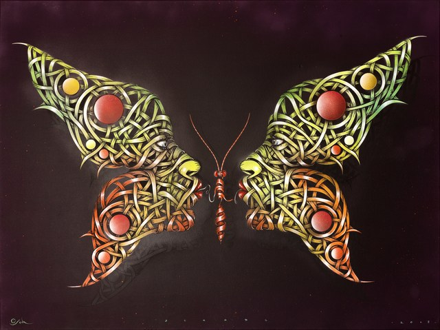 , 'Butterfly kiss,' 2015, GCA Gallery