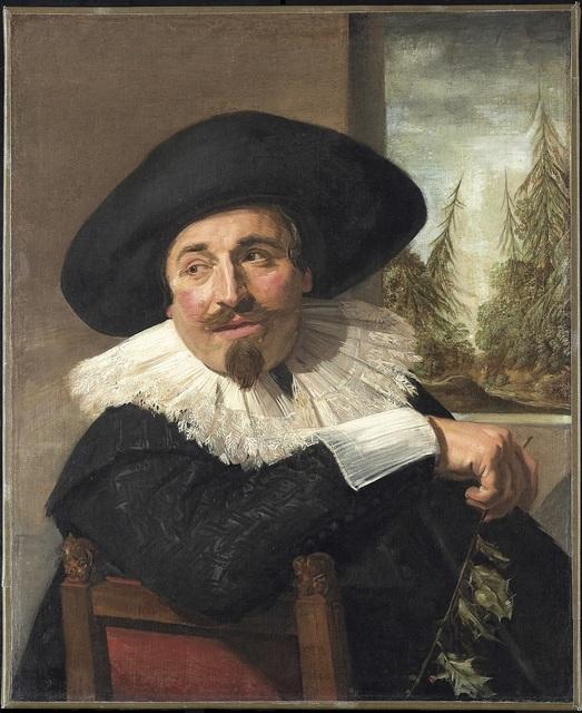Frans Hals, 'Isaac Abrahamsz. Massa', 1626, Art Gallery of Ontario (AGO)