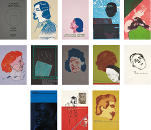 R.B. Kitaj, 'A Day Book by Robert Creeley; including two additional prints,' 1970-1972, Phillips: Evening and Day Editions