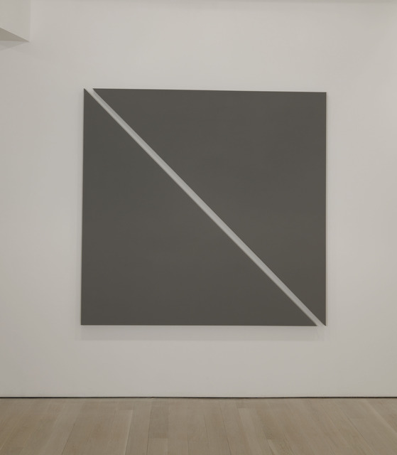 Alan Charlton, 'Single Diagonal', 2011, Annely Juda Fine Art