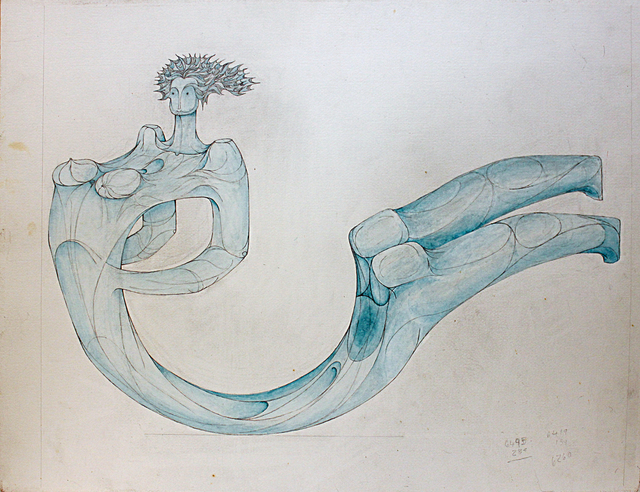 , 'The Woman and the Sea,' 2000, Hafez Gallery
