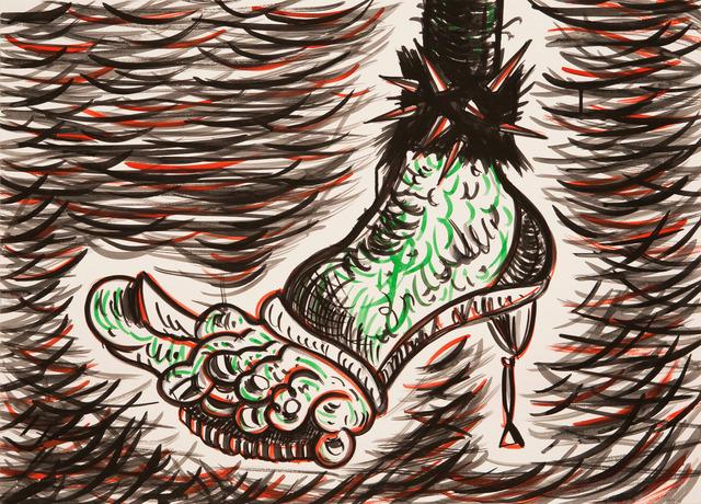 , 'Sick Feet Barbarella,' 2016, CHOI&LAGER