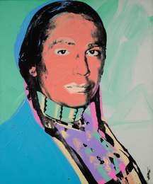 Andy Warhol, 'The American Indian (Russell Means),' 1976, Sotheby's: Contemporary Art Day Auction