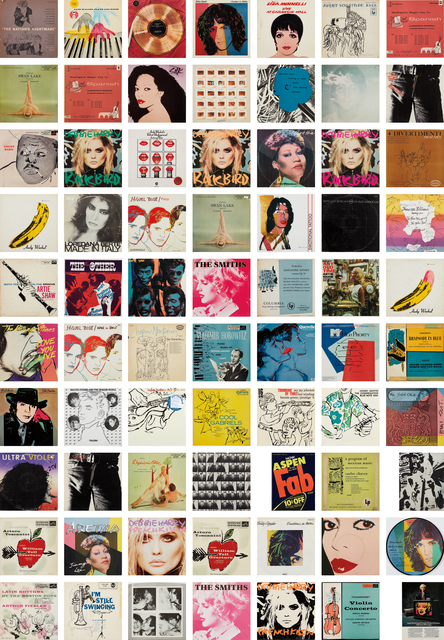 Andy Warhol, 'A Collection of Record Covers with Cover Art by Andy Warhol', 1949-87, Phillips