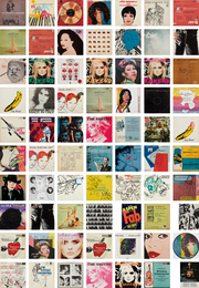 A Collection of Record Covers with Cover Art by Andy Warhol