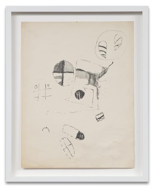 , 'Bomb Drawing 8,' 1961, Kohn Gallery