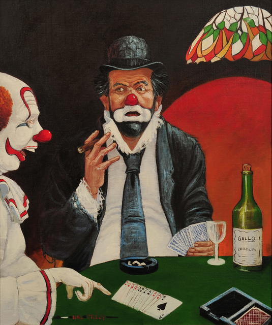 Hal Crecy, 'Gin Rummy Game', The Illustrated Gallery